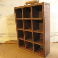木製仕切り付きボックス