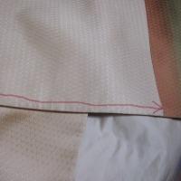 付け下げで、カンタン袋帯結びの練習
