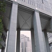 新宿西口公園から都庁前広場