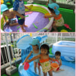 ☆・。すみれぐみ(2歳児)プール遊び。・☆