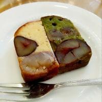 1万円の栗のテリーヌ、やっと食べられました・・・