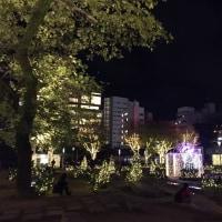 警固公園のイルミネーション