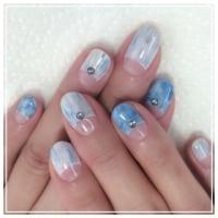 hand gel  blue