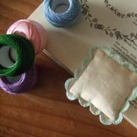 刺繍 東欧のピンクッション