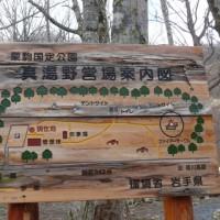 「いちのせき健康の森」自然観察会・エゾエンゴサク(蝦夷延胡索)2017年4月22日(土)