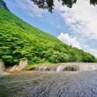 吹割の滝と片品渓谷(超広角10ミリレンズで2017年7月22日に撮影)