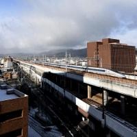 1月15日 雪の日の500系
