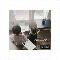 【クォン・サンウ Family】朝日差しいっぱい幸せな週末を過ごします❤️