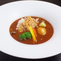 お野菜とかつおだしで作ったハヤシライス