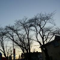 12月9日、午前7時過ぎの空模様