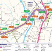 新しい高速道路が開通したようで・・・・これで、スワンへの往復も容易になるかも?