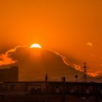 12月9日(金)ダイヤモンド富士-日野市バラ園