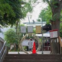 2017.06.24 渋谷区 本町5 氷川神社: 茅の輪の時季!