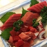今日も『魚兼さん』のお刺身♪ (宇都宮市)