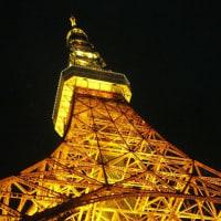 東京タワーを見上げたら