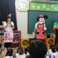 幼稚園でコンサート♪