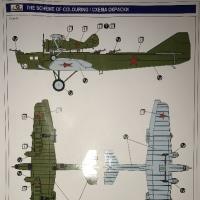 本日の到着キット(2017-2・3)「Aモデル1/72 ズベノ1A親子飛行機」「アオシマ1/72 三式戦闘機飛燕1型丁244戦隊」