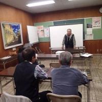 富士ホタル愛好会の総会:数名の総会になりました。