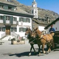馬車ライド、エンガディン Carriage ride, Engadin