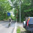 6月19日は恵庭山に登る。その後MTBで走る。