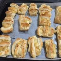 お料理大好きマナティ。 アップルパイを作ったよ~。