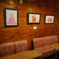 写真展会場(熊野 喫茶「道」)を訪問(写真展9月26日まで)