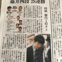 藤井四段 28連勝