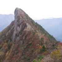 紅葉/石鎚山