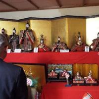 美咲町安井の古民家で、「ひなまつり」が開催中です。