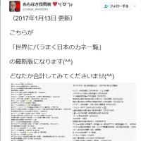 「世界にバラまく日本のカネ一覧」見っけ