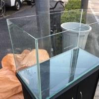 中古600×300×360オールガラス水槽