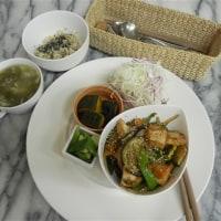 9/7~9/12 今週のマクロビオティックランチは「旬野菜の味噌炒め」です。