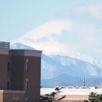 2017年1月21日,今朝の 富士山