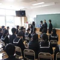 1年 読み聞かせ 学級リハーサル(2/16)