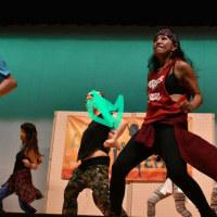 秋野先生のイベントラブ&ピースで先生と一緒に舞台で踊れました(*^▽^*)