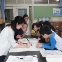 10月の墨絵教室