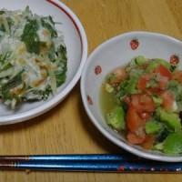 最近お気に入りのメニュー★水菜のつくね(^o^)/