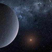マイクロ重力レンズで発見されたアイスボール惑星