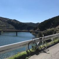 デローザで桜峠〜比奈知ダム