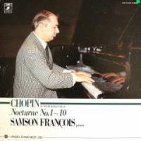 ◇クラシック音楽LP◇:サンソン・フランソワのショパン:夜想曲第1番~第10番