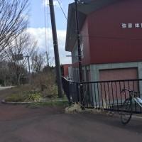 暴風の中、県選手権コースの試走練 79km。 こんな距離でもヘロヘロに。。。