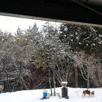 今日のお題はやっぱり雪でしょう