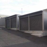 5町内会の防災倉庫完成しました。