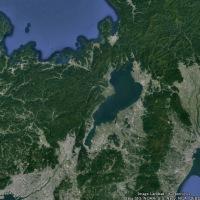 本州のくびれ:若狭湾・琵琶湖・関ヶ原・濃尾平野・伊勢湾