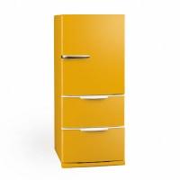 我が家の冷蔵庫は黄色で元気色。