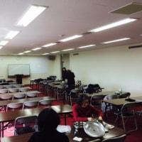 兵庫・火曜礼拝準備