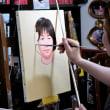 吉田肖像画塾(肖像画研究会)の再開です。