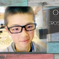 新しいメガネで更なる活躍を期待しています!クロスリンク ユース
