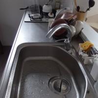 また朝ごはん前の洗い物しかしていない・・・