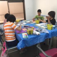 日曜日は多忙!二つの絵画教室です